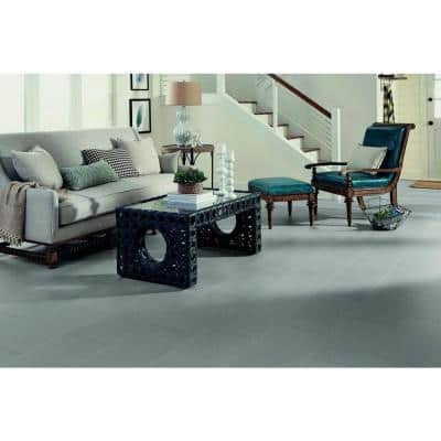 Grey Linear 12 in. x 24 in. Peel and Stick Vinyl Tile (20 sq. ft. / case)