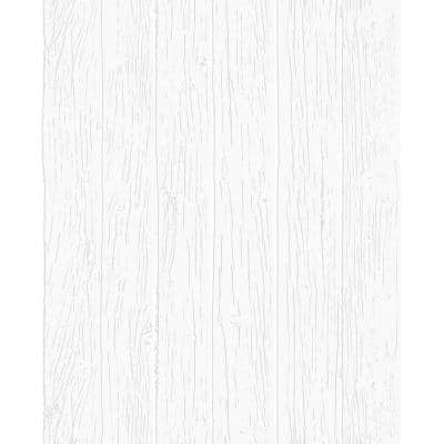 Woodwork White Paper Peelable Roll (Covers 56 sq. ft.)
