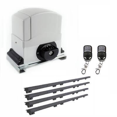 Slide Single Automatic Gate Opener Kit 60 ft. Length - 2700 lbs.