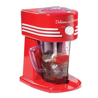 Coca-Cola 40 oz. Single Speed Red Frozen Beverage Blender