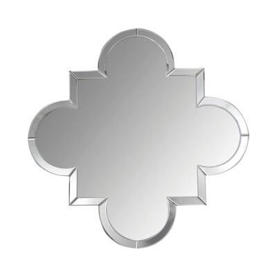Medium Round Beveled Glass Mirror (29.88 in. H x 29.88 in. W)