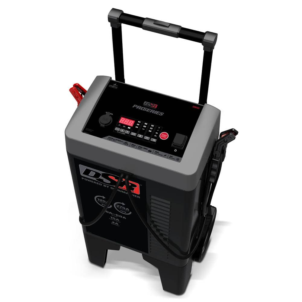 Schumacher ProSeries 250 Amp 6-Volt/12-Volt Wheel Charger with Flash Support