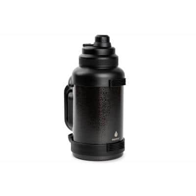 Titan 78 oz. Black Stainless Steel Vacuum Insulated Water Bottle