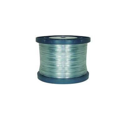 1/4 Mile 17-Gauge Galvanized Steel Wire