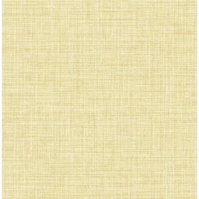 Barbary Yellow Crosshatch Texture Paper Strippable Wallpaper (Covers 56.4 sq. ft.)