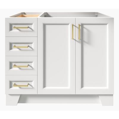 Taylor 42 in. W Vanity Cabinet Only in White