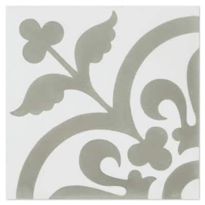 Raylen A 8 in. x 8 in. Cement Handmade Floor and Wall Tile (Box of 16/ 6.96 sq. ft.)