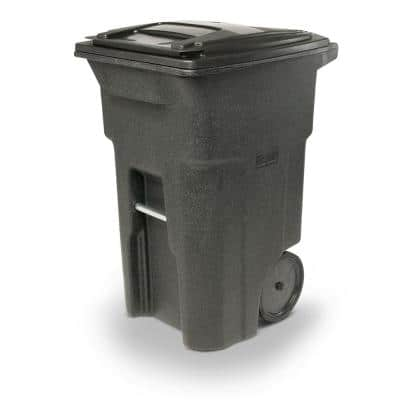 64 Gal. Blackstone Trash Can with Quiet Wheels and Lid