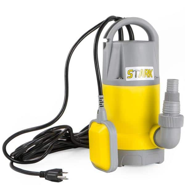 K2 Pumps SPA02501TDK 1//4 HP Direct Tethered Top Suction Sump Pump