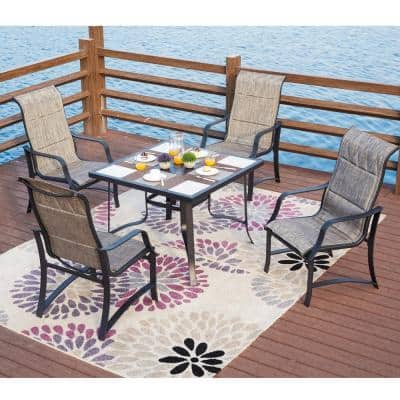 5-Piece Sling Outdoor Dining Set