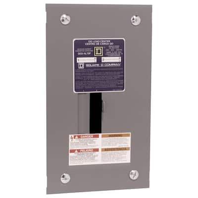 QO 70 Amp 2-Space 4-Circuit Indoor Flush Mount Main Lug Load Center
