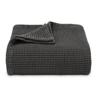 Waffleweave Cotton Blankets
