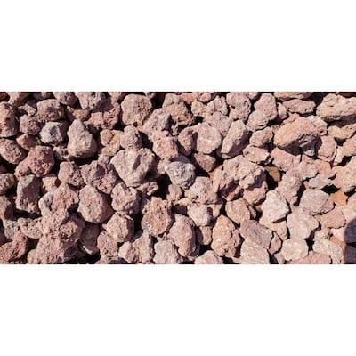 "10 cu. ft. Lava Rock Red  .50"" - 1.00"" Decorative Stone - (1 Bag/10 cu. ft./Pallet)"