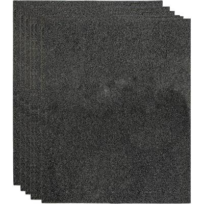 20 in. x 40 in. x 1.5 in. Replacement Cut-to-Fit Carbon Sheets Compatible with Hunter F1700 Viro-Silver, 30601 (60-Set)
