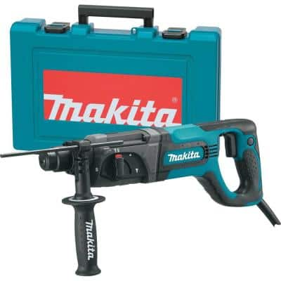 7 Amp Corded 1 in. SDS-Plus Concrete/Masonry Rotary Hammer Drill with Side Handle and Hard Case