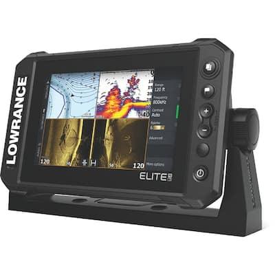 Elite FS 7 Fishfinder/Chartplotter w/C-MAP Contour+ & Active Imaging 3-in-1 Transducer