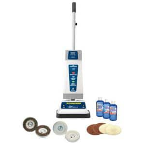 All-in-One Floor Cleaner, Shampooer and Polisher with High Impact Housing