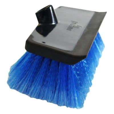 10 in. Waterflow Scrub Brush with Squeegee