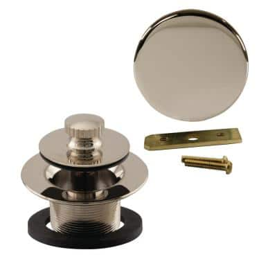 Universal Twist and Close Tub Trim Kit in Polished Nickel