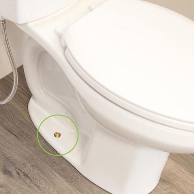 SetFast 5/16 in. x 2-1/4 in. No Cut Brass Closet Toilet Bolt Kit
