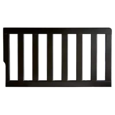 Convertible Crib Black Toddler Guard Rail