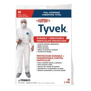 DuPont Tyvek Medium Painters Coverall with Hood and Boots