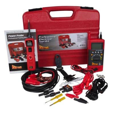 This Test Kit Provides Circuit Testing Ability of the PP3 Combined with the Diagnostic Capabilities of the PPDMM