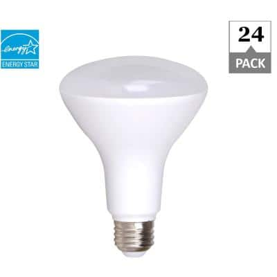 65-Watt Equivalent R30 Dimmable Quick Install Contractor Pack LED Light Bulb in Soft White (24-Pack)