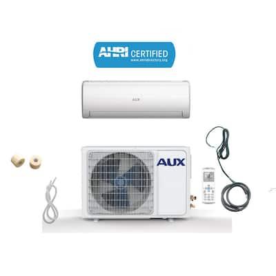 36,000 BTU Ductless Mini Split Air Conditioner with Heat Pump 17 SEER 230-Volt 3 Ton, 12 ft. Line Set, Wall Mount