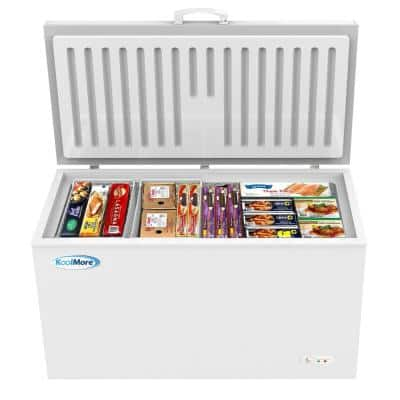 16 cu. ft. Manual Defrost Commercial Chest Freezer in White