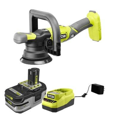 18V ONE+ 5 in. Variable Speed Dual Action Polisher Kit with 4.0 Ah LITHIUM+ HP Battery and Charger