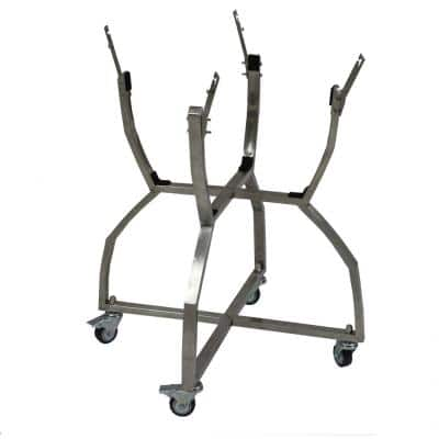 Kamado Stainless Steel Grill Cart