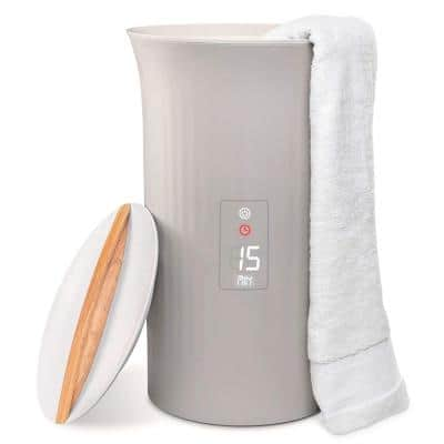 Towel Warmer with LED Display Bucket Header Style