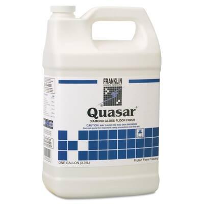 1 Gal. Bottle Liquid, Quasar High Solids Floor Finish Non-Carpet Cleaner 4 per Carton