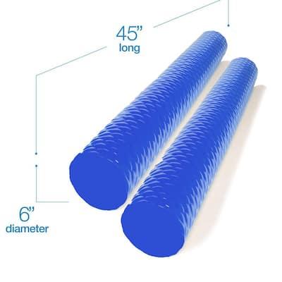 Blue Tetra Mega Noodle Big Round Premium Outdoor Water Float (2-Pack)