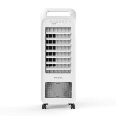 250 CFM 3-Speed 2-In-1 Personal Evaporative Air Cooler (Swamp Cooler) with Removable Water Tank for 100 sq. ft. - White