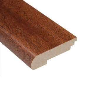 Mahogany Natural 3/4 in. Thick x 3-3/8 in. Wide x 78 in. Length Stair Nose Molding