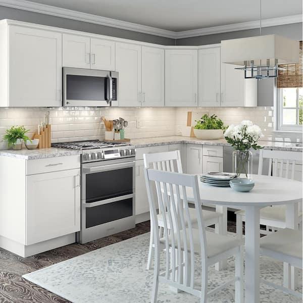 White Kitchen Cabinets Home Depot