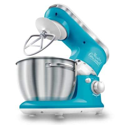 4.2 Qt. 6-Speed Turquoise Stand Mixer with Dough Hook