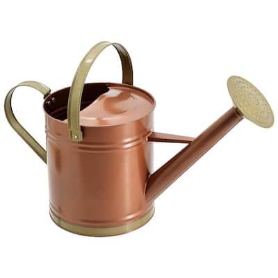 Classic 1.3 Gal. Bronze Metal Watering Can
