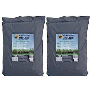 Wakefield 1 cu. ft. Bag Premium Biochar Organic Garden Soil Conditioner (2-Pack)