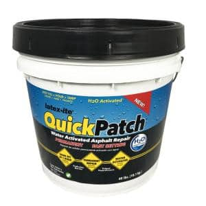 3.5 Gal. Quick Patch H2O Water Activated Asphalt Patch