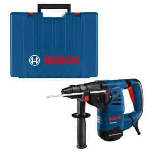 8 Amp 1-1/8 in. Corded Variable Speed SDS-Plus Concrete/Masonry Rotary Hammer Drill with Depth Gauge and Carrying Case