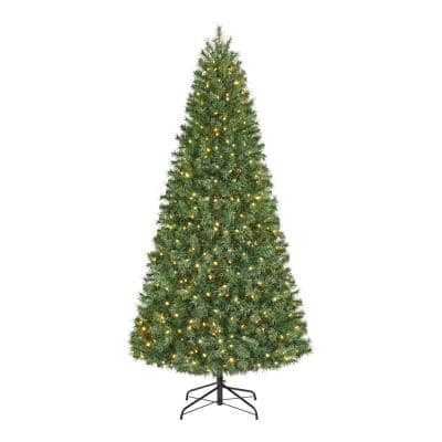 7.5 ft Festive Pine Pre-Lit LED Artificial Christmas Tree with 500 Color Changing Mini Lights