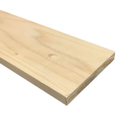 1/2 in. x 4 in. x 3 ft. S4S Poplar Board