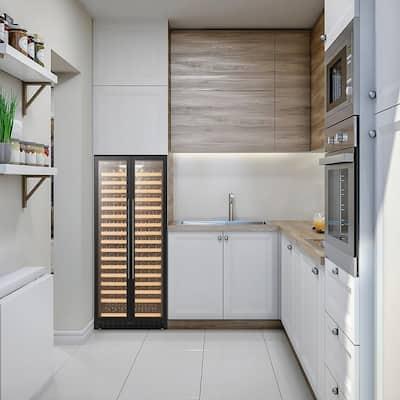 LP328S - 289 Bottle Black Single Zone Wine Refrigerator