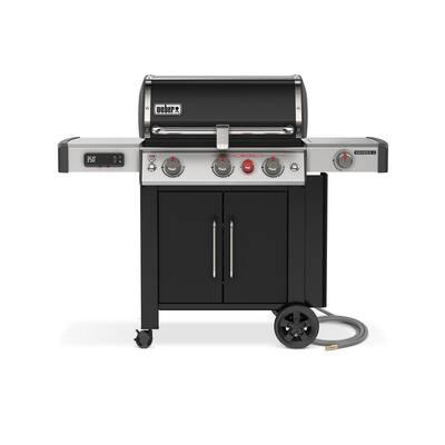 Weber Genesis II EX-335 3-Burner Natural Gas Smart Grill - Black