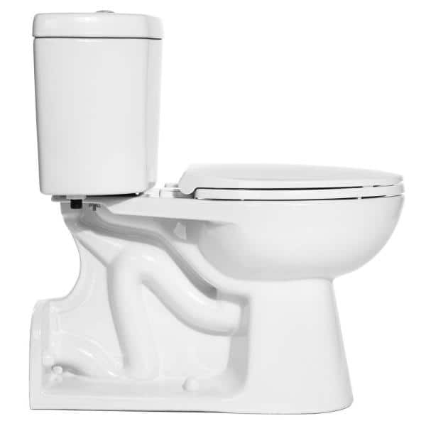 Reviews For Niagara Stealth 2 Piece 0 95 Gpf Rear Outlet Single Flush Elongated Toilet With Stealth Technology In White Seat Not Included N7799 The Home Depot