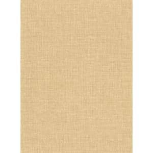 Upton Wheat Faux Linen Vinyl Strippable Roll (Covers 60.8 sq. ft.)
