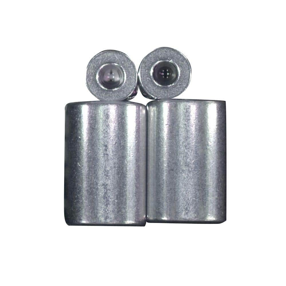Lehigh 1/8 in. Aluminum Ferrule and Stop Set
